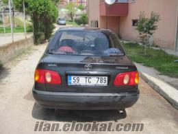 Tekirdağ Çerkezköyden satılık toyota corolla sedan 1.6 araba