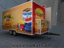 Fast food araçları Fast food karavan Fas food arabası İmalatı Aysan Bursa