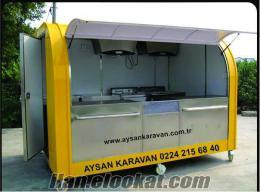 Büfe imalatı Kiosk büfe Seyyar büfeler Mobil büfe İmalatı Aysan Bursa