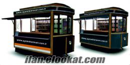 Mobil kafe Mobilcafe Büfekaravan Seyyarbüfe