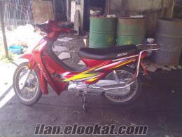 sahibinden 100 lük ARORA motosiklet kırmızı