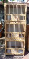 güvercin kümesi 3 katlı salma
