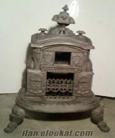 Antika Döküm Soba Odun Sobası Kömür Sobası