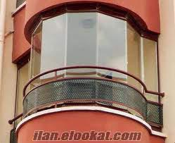 başakşehir sürgülü, katlamalı, cam balkon kapatma ustası