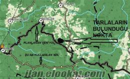 çanakkalede yeni planlanan yola 100 mt satılık arazi 108 dönüm
