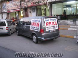 minibüs kiralama Zeytinburnu