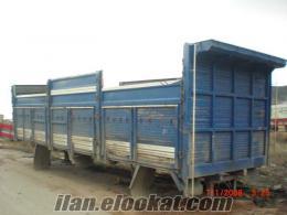 Beypazarında 3227 önden dingilli kırkayak cargo kasası