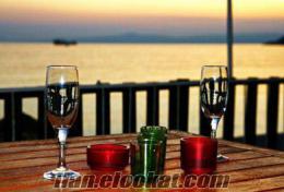 Marmara Adasında Deniz Kenarında Satılık Bar ve Beach