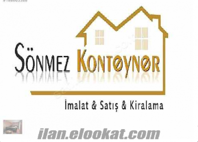 WC-DUŞ-OFİS-KONUT-ŞANTİYE-3*KONTEYNER PARK TA