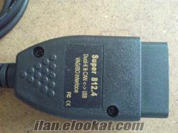 Vag-Com 812.4 WV Grubu arıza tespit cihazı(WV, Audi, Seat, Skoda) Vag-Com 812