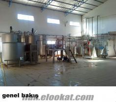 Satılık Süt ve Süt Mamülleri Fabrikası