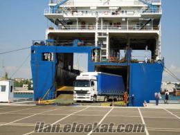 Türkiye - Ukrayna arasindaki yeni feribot hattı