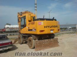 Hyundai 170 Tekerli Eksvatör (Beko Kepçe)