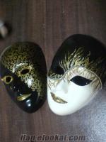 Doğum Günü Yilbaşi Hediyelik Eşya Için Seramik Maskeler