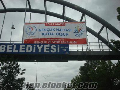 kiralık, satılık branda afişleri Ankara, batıkent