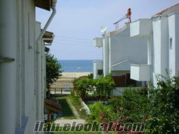enez sahilde denize sıfır dublex villa
