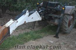 tıraktör arkası kanal kazıcı