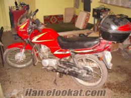 Satılık motorsiklet honda cg 125 titan marka 2000 model olup