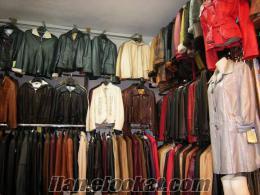 toptan deri mont -ceket-kaban-pardesü v.s mağaza malı üst üste