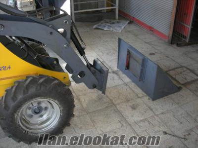 satılık bahçe ve çifliklere çok amaçlı iş makinası