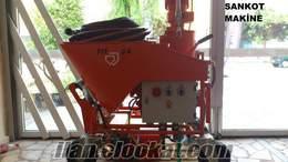 pft g4 alçı sıva makinesi