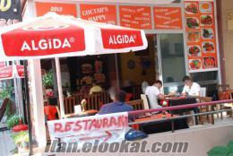alanyada sahibinden devren kiralık restaurant & cafe bar