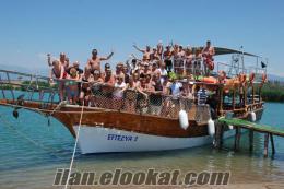 18 mt. 65 kişilik gezi teknesi satılık