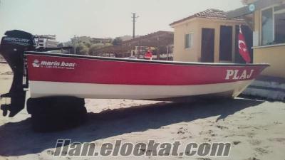 Marin Boat Fiber Tekne (9.9 mercury motor)