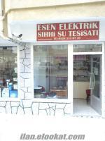 sahibinden mülküyle devren satlık elektirik ve su tesisatı iş yeri