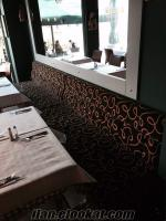 Sahibinden anahtar teslimi 2.el lüx restaurant malzemeleri