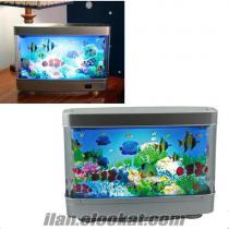 Denizaltı Görünümlü Yapay Akvaryum Her çocuğun bayılacağı sevimli, eğlenceli ve