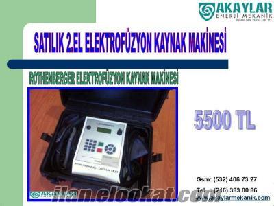 Satılık 2.el elektrofüzyon