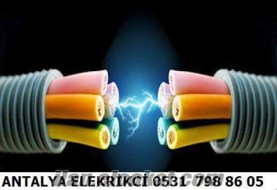 konyaaltı elektrikci