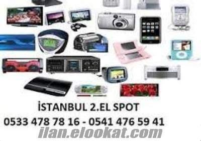 İSTANBUL 2.EL MACBOOOK ALAN LAPTOP LCD PS3 ALAN YERLER