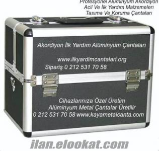 Alüminyum Akordiyon İlkyardım Çantası Model Kod : WB 909 Profesyonel Amaçlı Kull