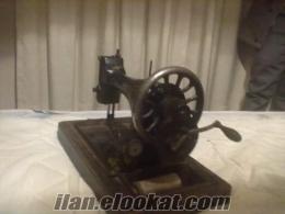 200 yıllık antika singer dikis makinası