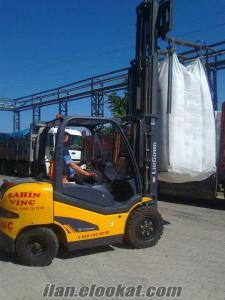 izmirde 7 ton luk forklift