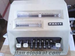 FACIT hesap makinası