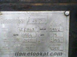 1952 model satılık fendt 28 lık