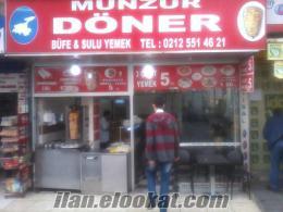 istanbul şirinevlerde acilen devren satılık döner ve yemek salonu