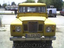 land rovır jip jeep 75 model kabinli