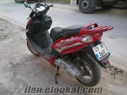 satılık kanuni rokko markalı 150cc skooter motorsiklet