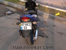 Antalya muratpaşada sahibinden motorsiklet .masrafsız