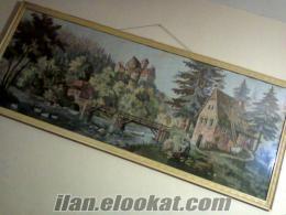 tekirdağdan satılık goblen 70*170 el emeği tablo