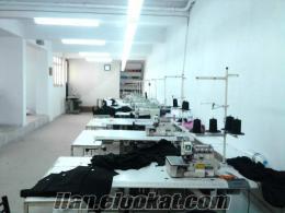 satılık tekstil atölyesi Maltepede