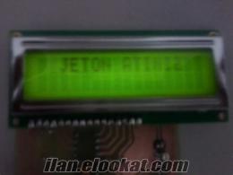Jeton Kanalı Zamanlayıcısı - LCD ekranlı