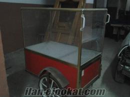 şirinevlerde satılık simit arabası