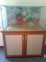 ıspartada full set akvaryum mobilyalı