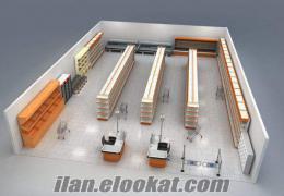 türkiyede satılık süpermarket malzemeleri süpermarket regalleri soğutucu dolap