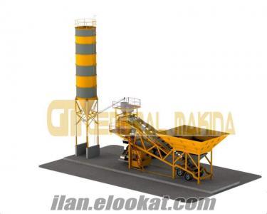 GENERAL MAKİNA - MOBİL BETON SANTRALİ - GNR-MBS60